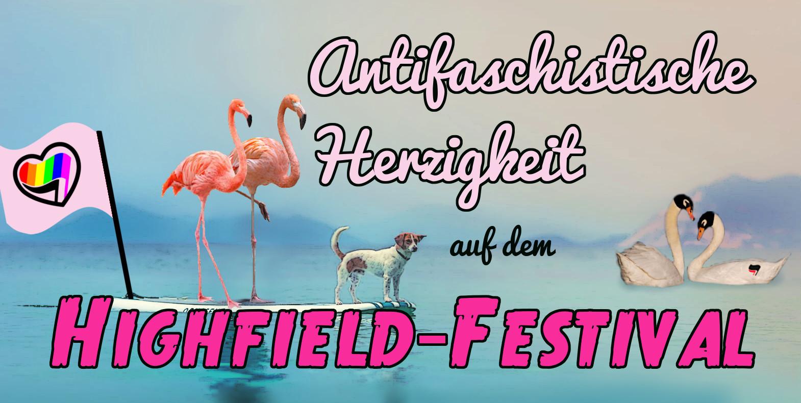 Antifaschistische Herzigkeit auf dem Highfield Festival