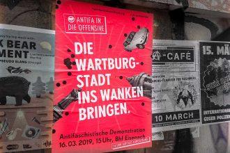 Die Wartburgstadt ins Wanken bringen! Am 16. März 2019 nach Eisenach fahren