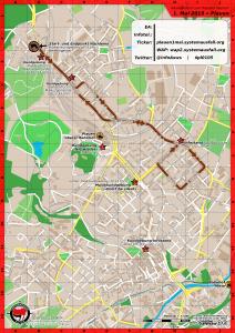 Aktionskarte für #plauen0105
