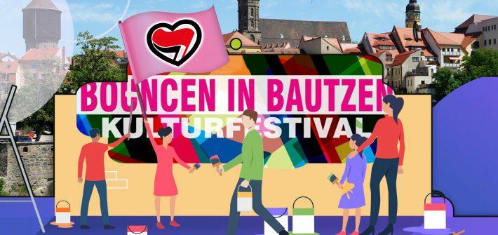 Bouncen in Bautzen Kulturfestival