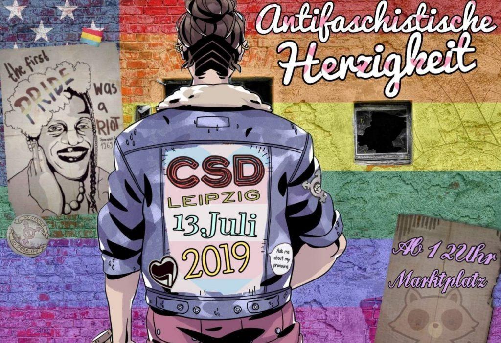 Christopher Street Day am 13.7.2019 in Leipzig ab 12:00 Uhr auf dem Marktplatz